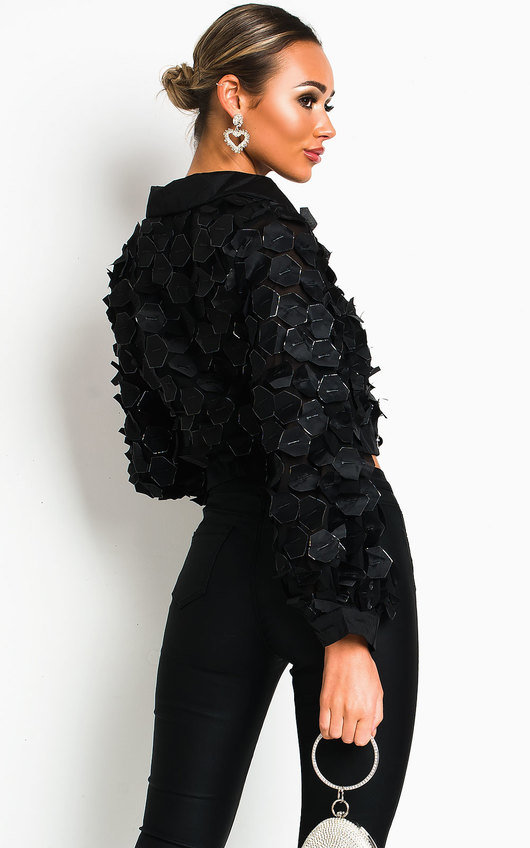 Bryony Cropped Blouse