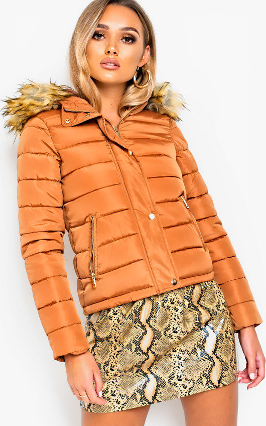 Camile Padded Hooded Jacket