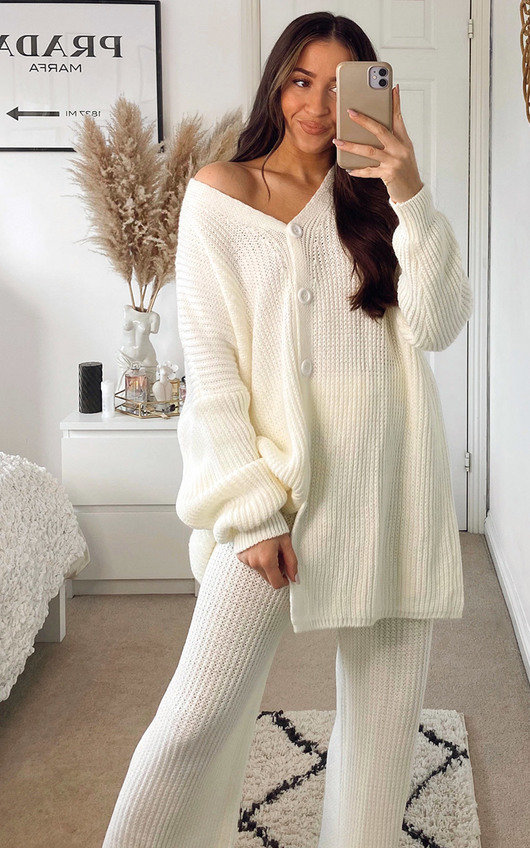Camilla Knitted Cardigan and Trousers Co-ord