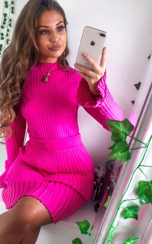 Camille Ribbed Layered Co-ord