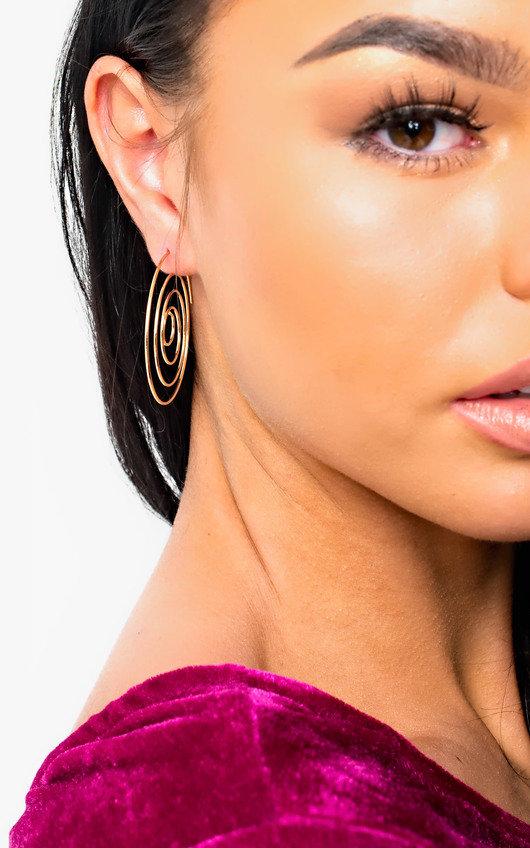 Camille Swirl Earrings