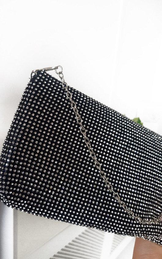 Candice Diamante Clutch Bag