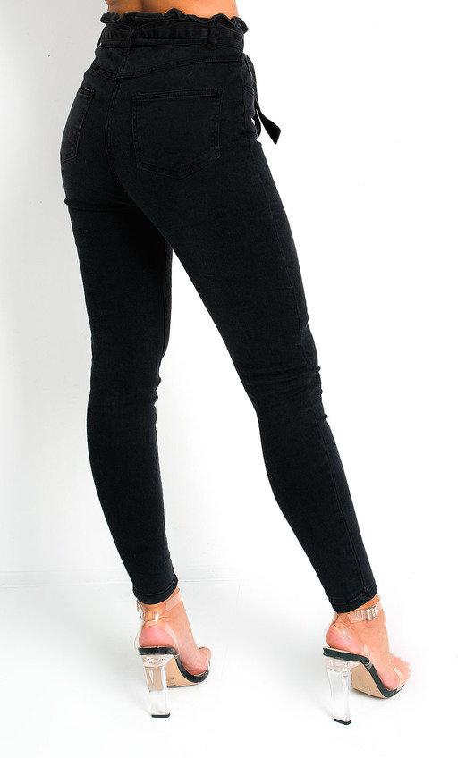 Cardi Tie Waist Denim Jeans