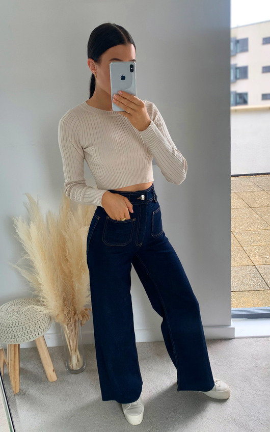 Carmen Straight Leg Jeans