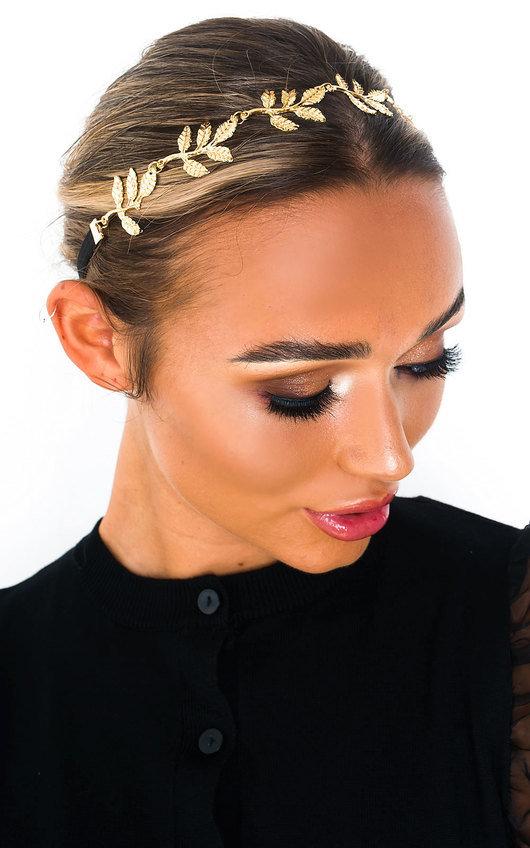 Caroline Leaf Headband