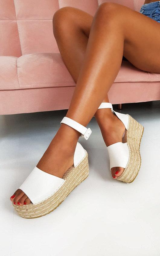 Carrie Flatform Wedged Sandals
