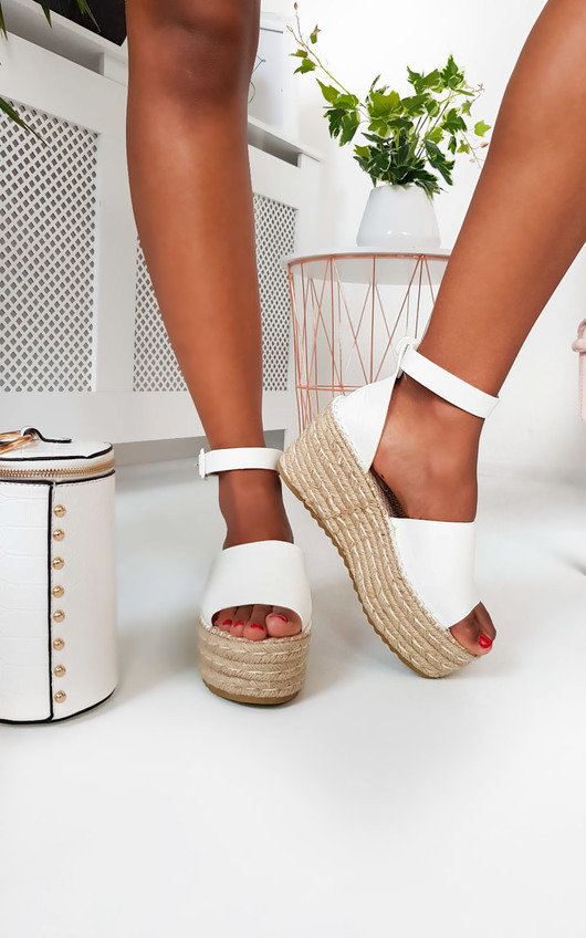 Carrie Flatform Wedged Sandals