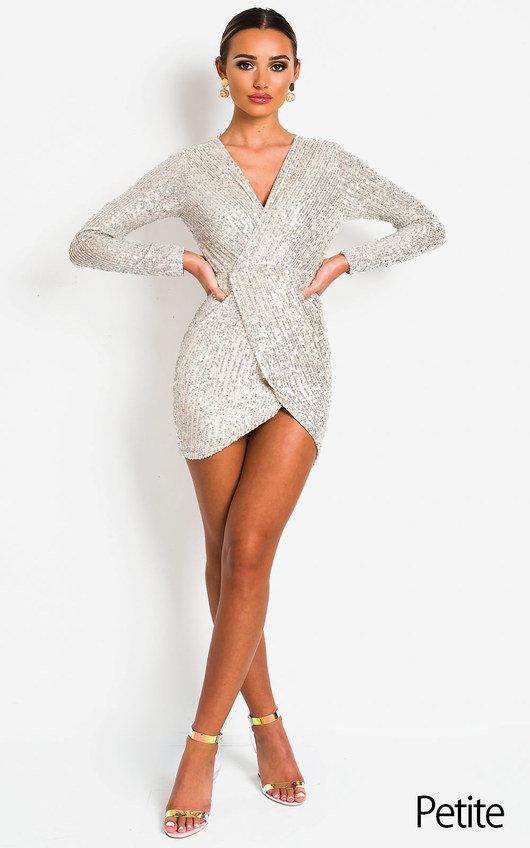Cassie Sequin Embellished Dress