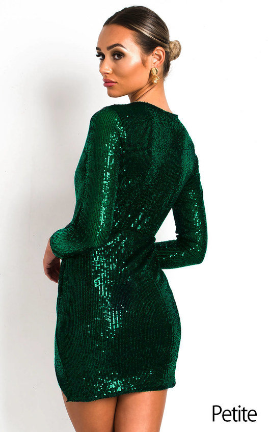 Cassie Sequin Embellished Dress