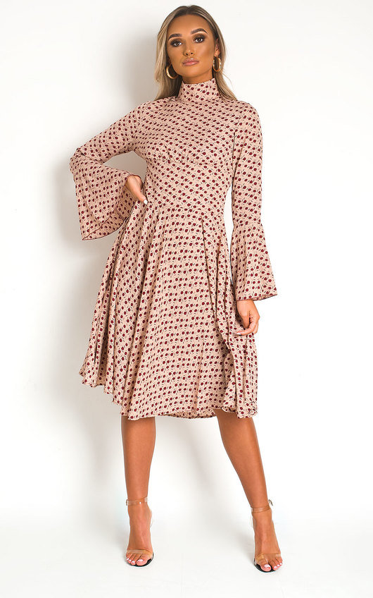 Catrina Flower Detail Maxi Dress