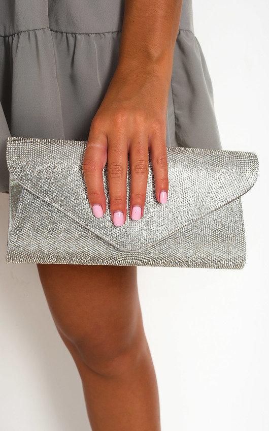 Cece Diamante Clutch Bag