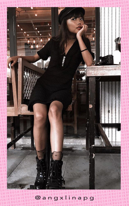 Chanel Frayed Knit Dress