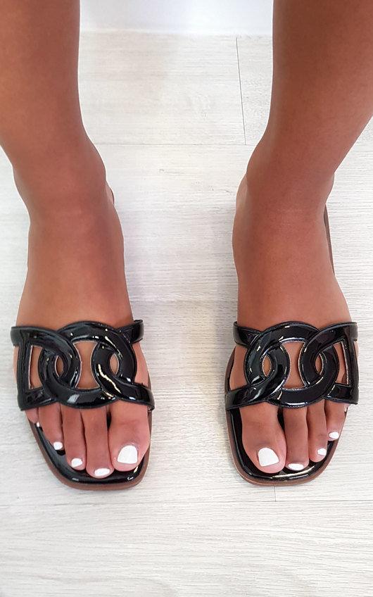 Chanel Open Toe Sandals