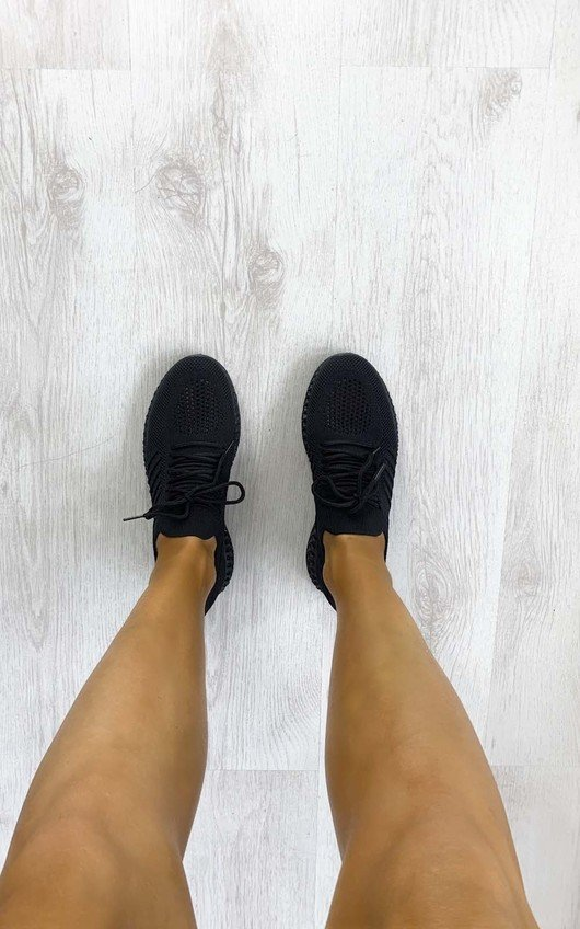 Charlie Lace Up Sock Trainers