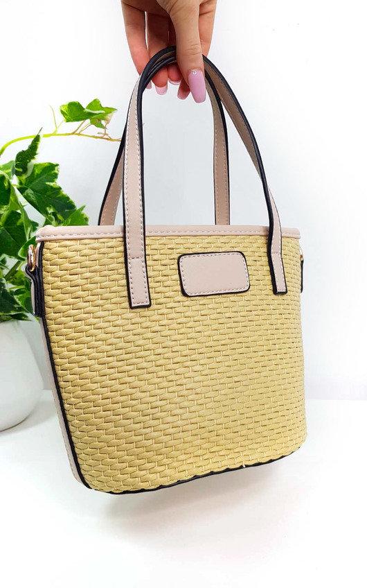 Chelsea Wicker Handbag