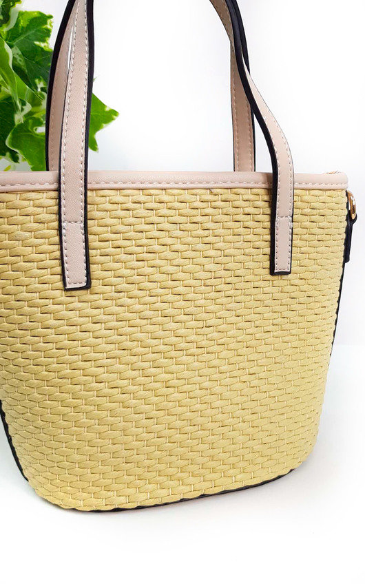 Chelsea Wicker Handbag