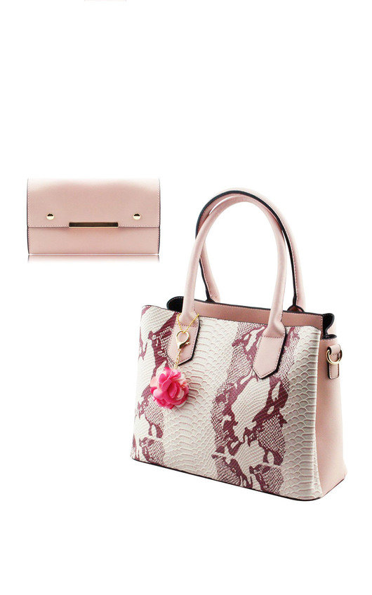 Cher Snake Print Bag