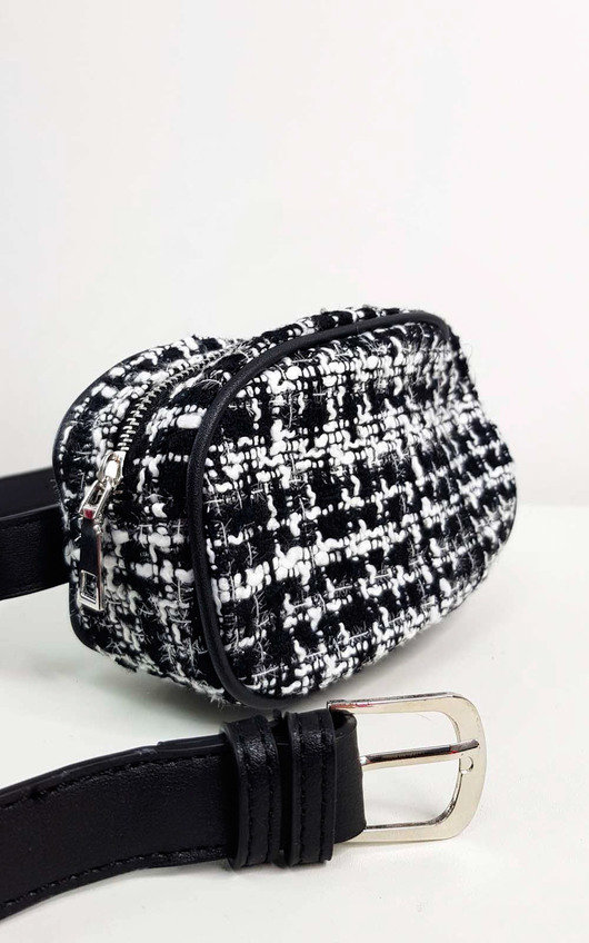 Cheryl Tweed Belt Bag