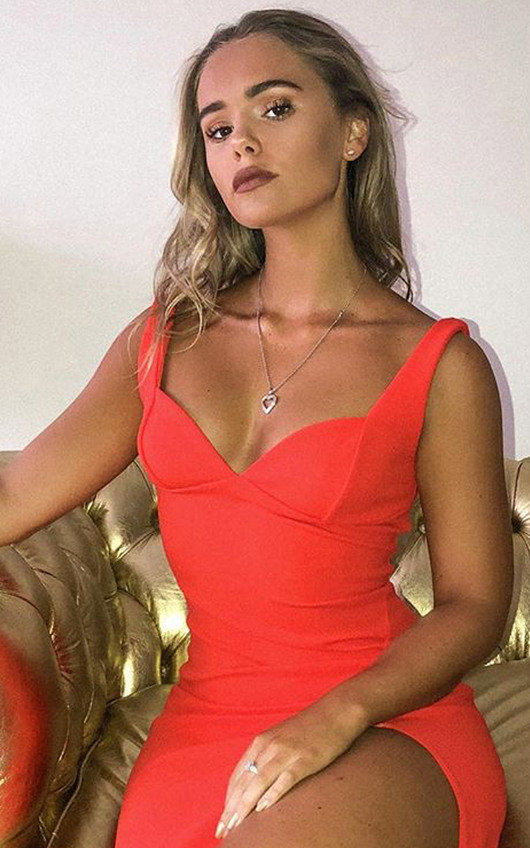 Ciara Bodycon Midi Dress