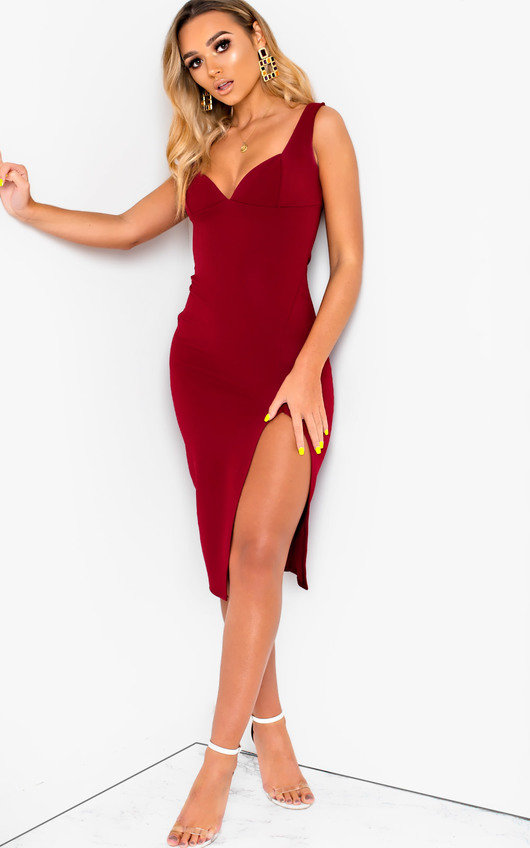 Ciara Bodycon Midi Dress