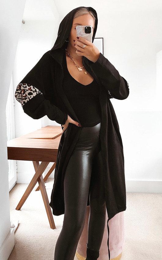 Ciara Longline Hooded Cardigan