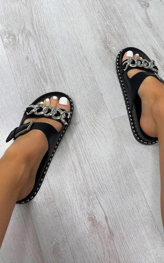 Cinzia Buckle Sandals