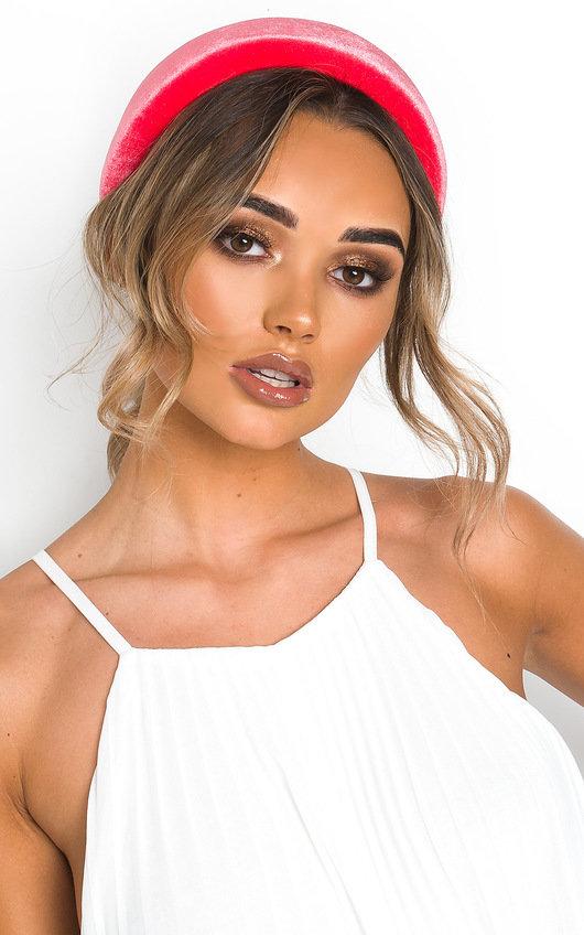 Cinzia Velvet Padded Hairband