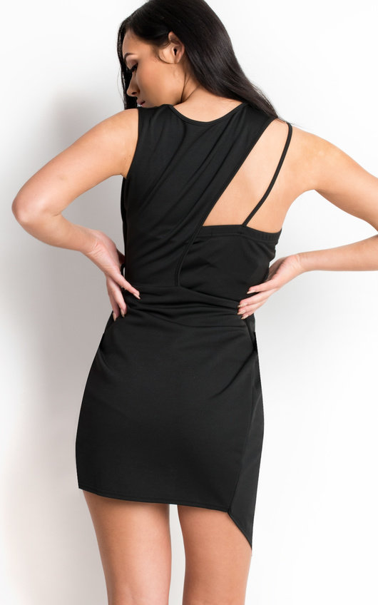 Clara Bodycon Wrap Dress