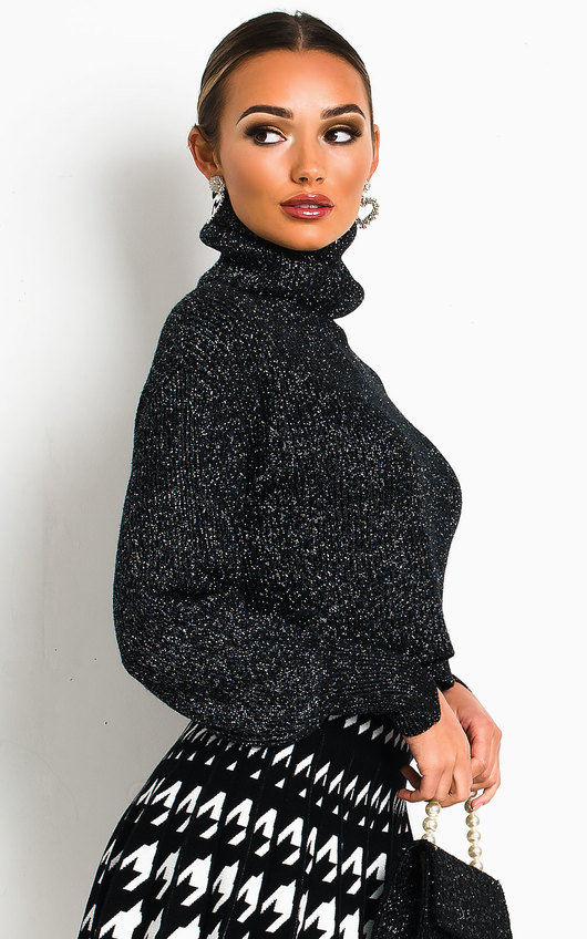 Clara Chunky Shimmer Knitted Jumper