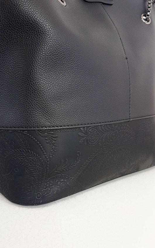 Clara Faux Leather Handbag