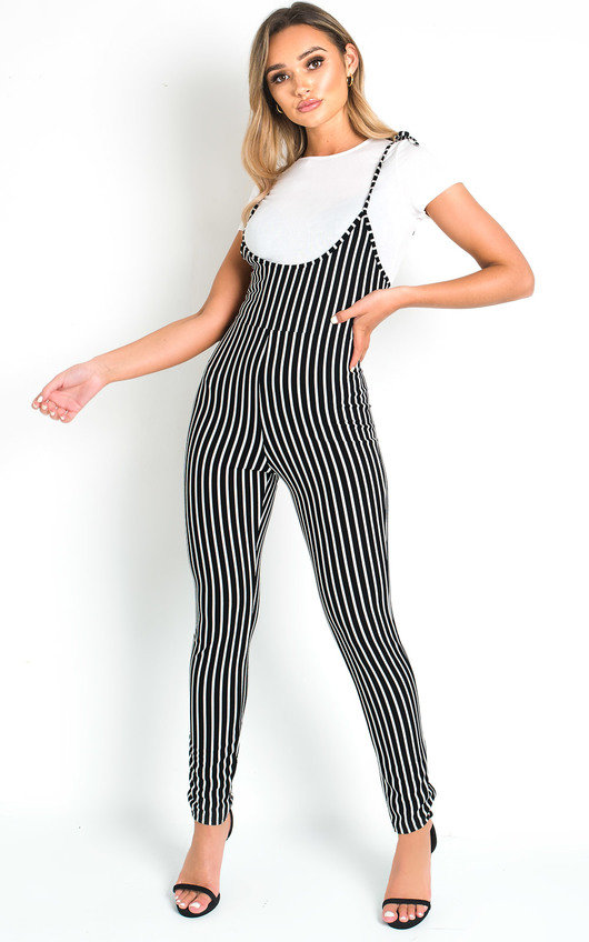 Clara Striped Jumpsuit
