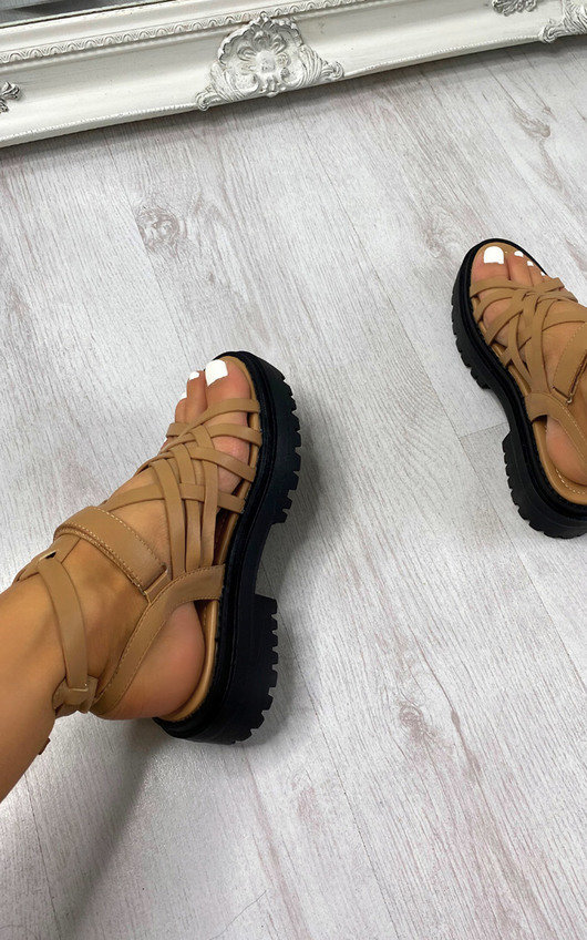 Cleo Strappy Sandals