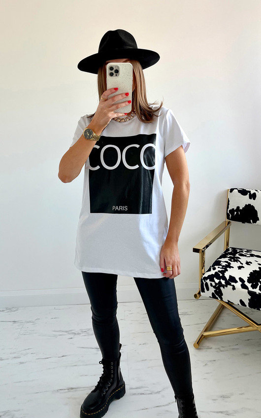 Coco Slogan T-shirt