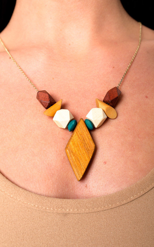Cody Wooden Necklace