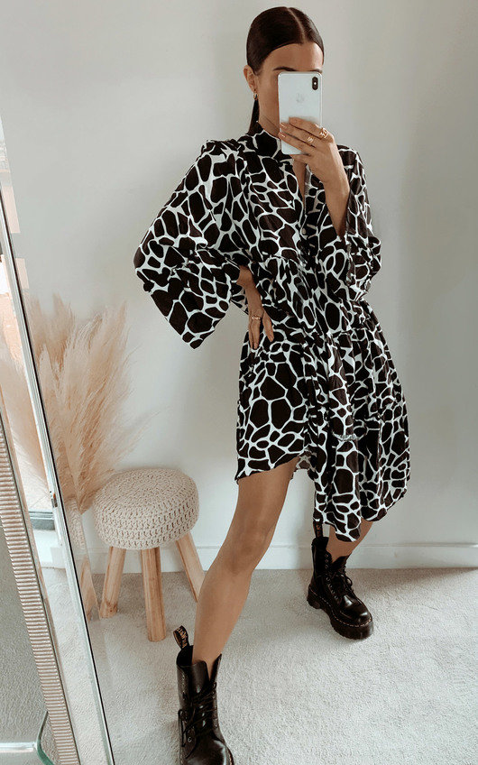 Colleen Printed Dress