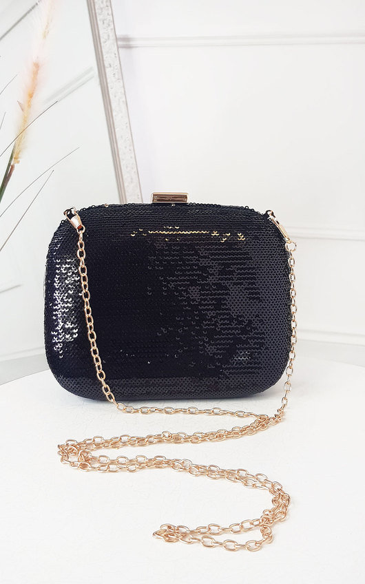Connie Sequin Embellished Handbag