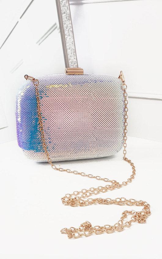 Connie Sequin Embellished Handbag