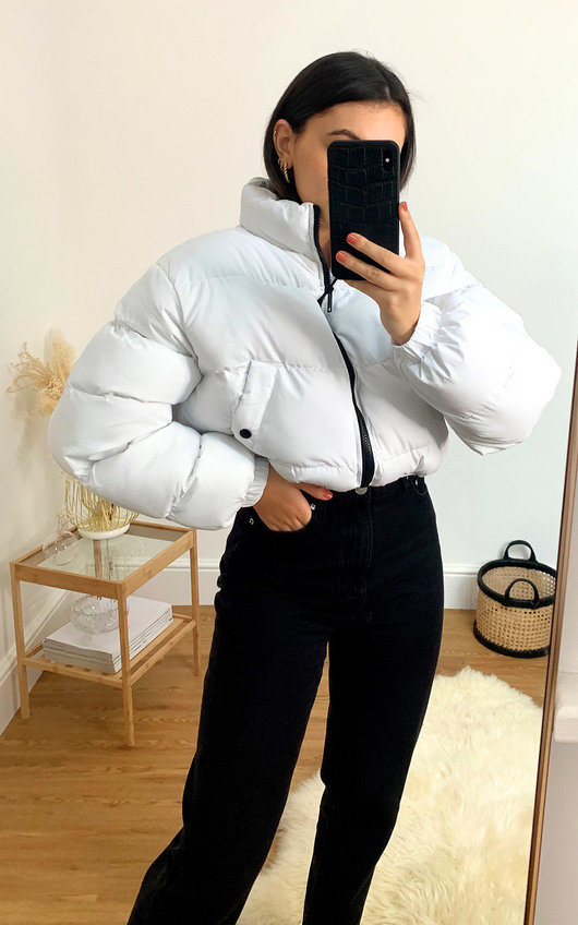 Cora Cropped Padded Puffer Jacket
