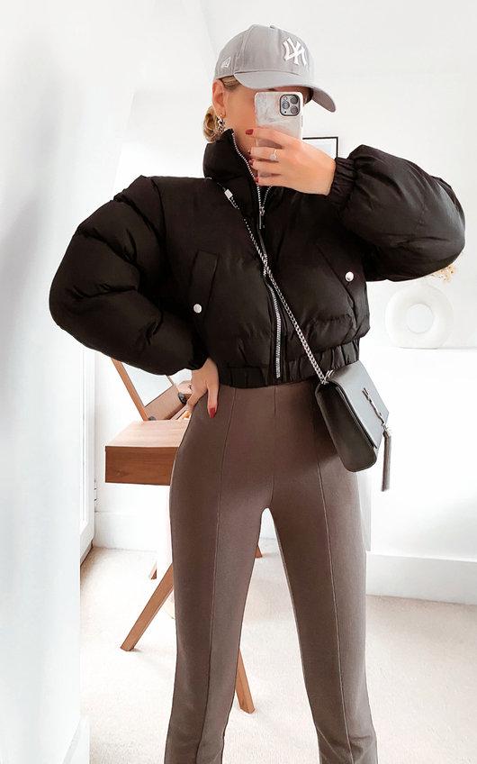 Cora Cropped Padded Puffer Jacket