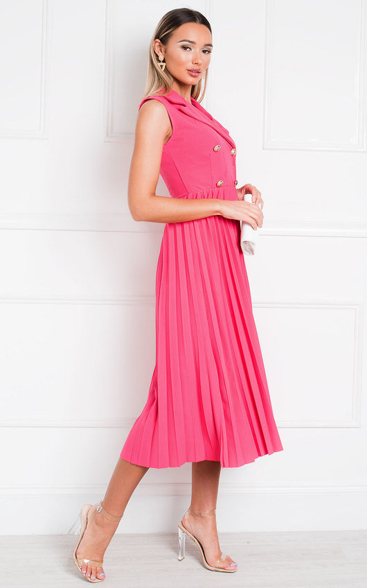 Corin Pleated Skirt Dress