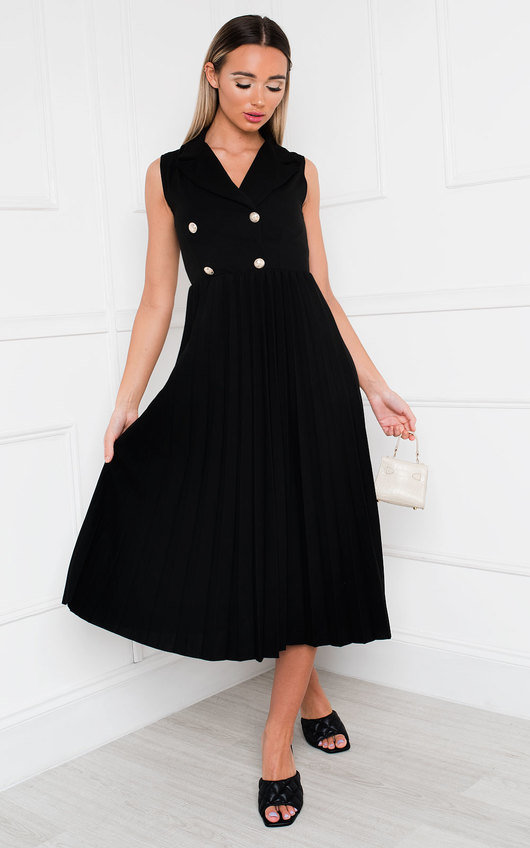 Corin Pleated Skirt Dress
