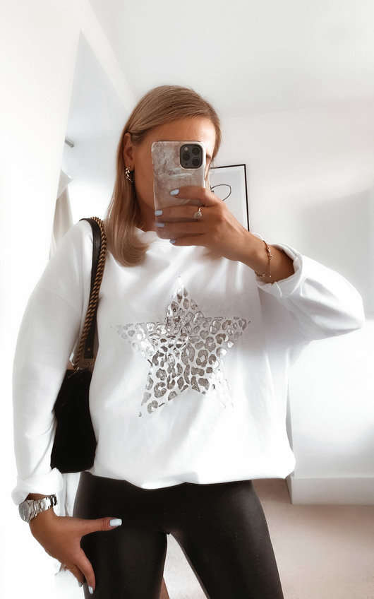 Cosmo Star Knitted Jumper