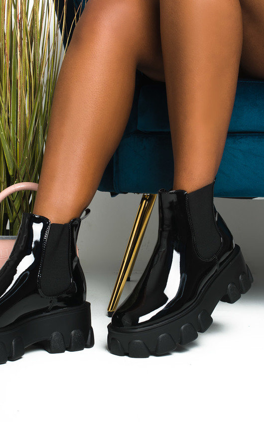 Court Mega Chunky Ankle Boots