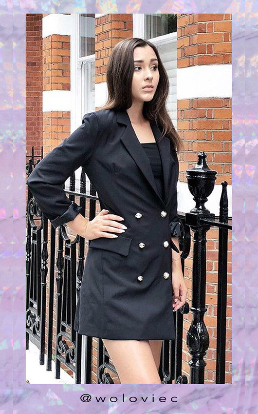 Courtney Blazer Dress