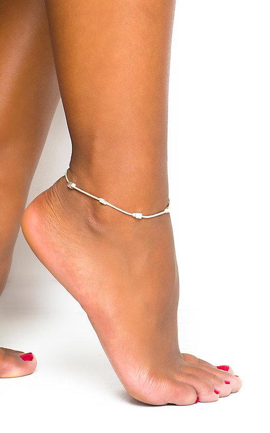 Cube Anklet