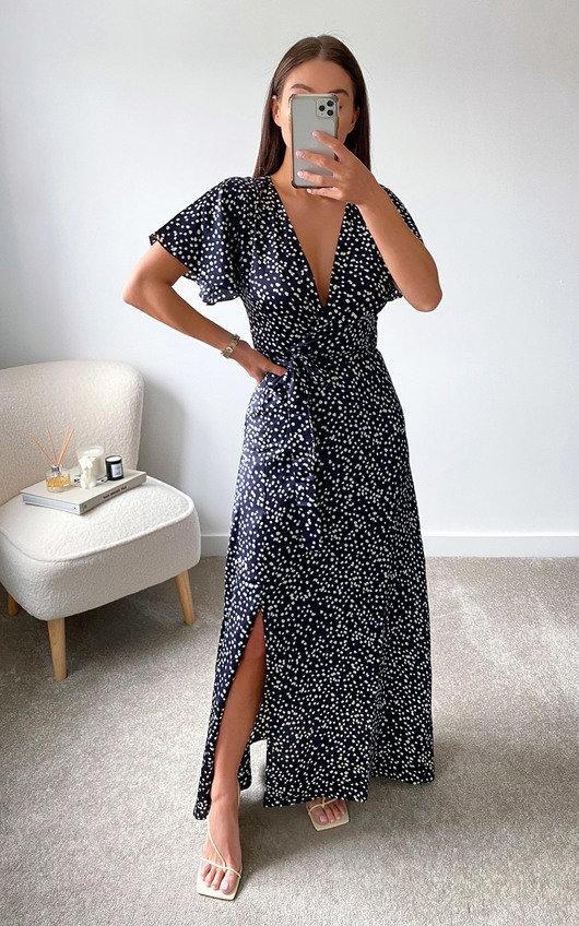 Daffy Maxi Wrap Dress