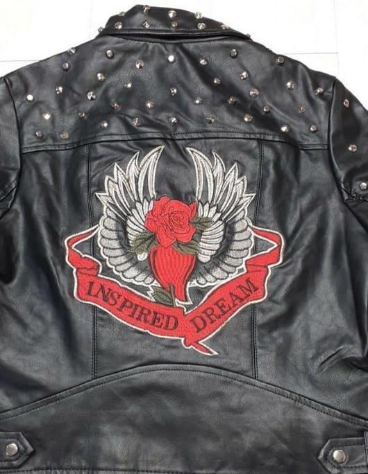 Daina Faux Leather Jacket