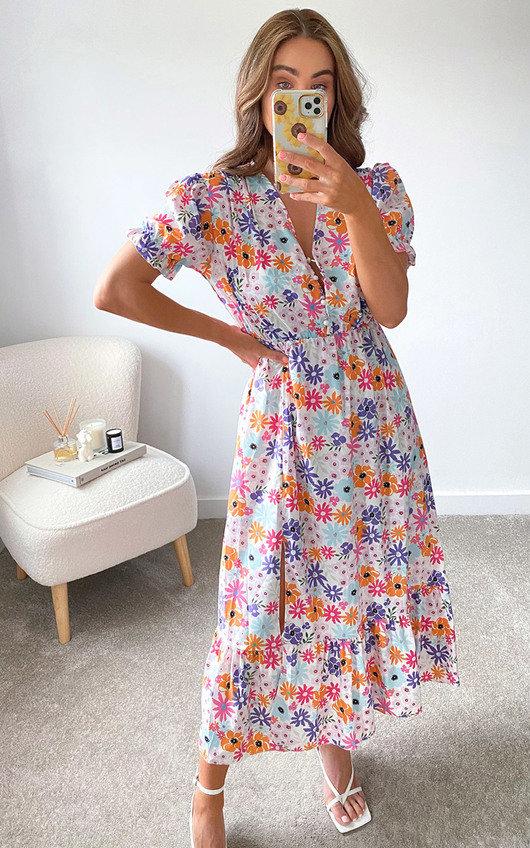 Daisy Printed Dress