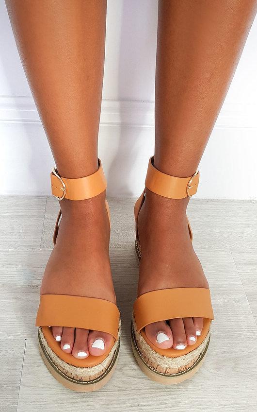 Daisy Strappy Platform Sandals