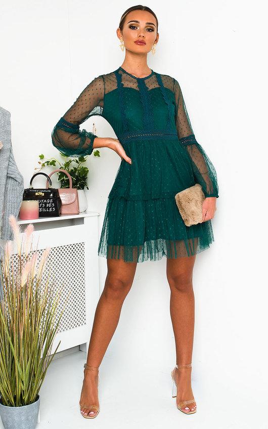 Daisyy Lace Shift Dress